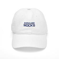 annalise rocks Baseball Cap