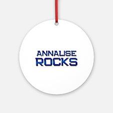 annalise rocks Ornament (Round)