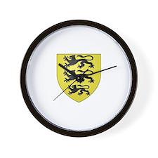 House of Hohenstaufen Wall Clock