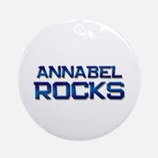 annabel rocks Ornament (Round)