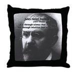 Theoretical Science Poincare Throw Pillow