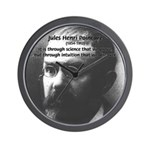 Theoretical Science Poincare Wall Clock
