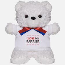 I Love My Farrier Teddy Bear