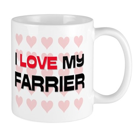 I Love My Farrier Mug