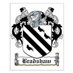 Bradshaw Coat of Arms Small Poster