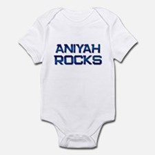 aniyah rocks Infant Bodysuit