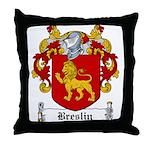 Breslin Coat of Arms Throw Pillow
