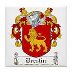 Breslin Coat of Arms Tile Coaster