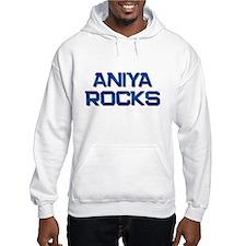 aniya rocks Hoodie Sweatshirt