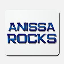 anissa rocks Mousepad