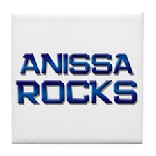 anissa rocks Tile Coaster