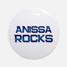 anissa rocks Ornament (Round)