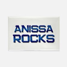 anissa rocks Rectangle Magnet