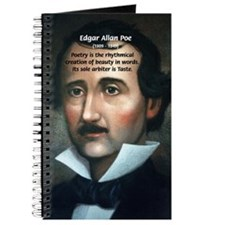 Poet Edgar Allan Poe Journal
