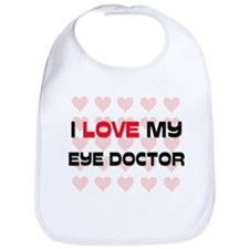 I Love My Eye Doctor Bib