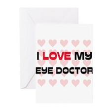 I Love My Eye Doctor Greeting Cards (Pk of 10)