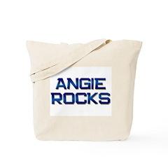 angie rocks Tote Bag