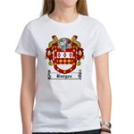 Burges Coat of Arms Women's T-Shirt
