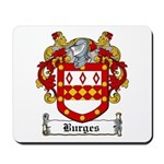 Burges Coat of Arms Mousepad