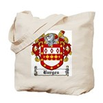 Burges Coat of Arms Tote Bag