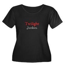 """Twilight Junkies """"Twilight Junkie"""" T"""