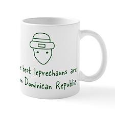 Dominican Republic leprechaun Small Mugs