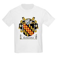 Callender Coat of Arms Kids T-Shirt