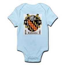 Callender Coat of Arms Infant Creeper