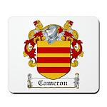 Cameron Coat of Arms Mousepad