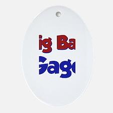 Big Bad Gage Oval Ornament