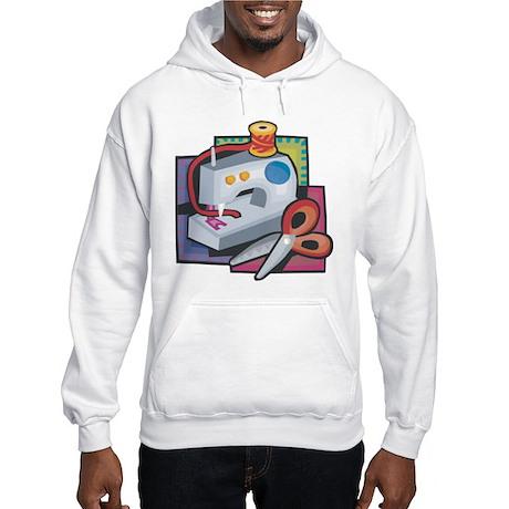 Sewing Hooded Sweatshirt