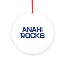 anahi rocks Ornament (Round)