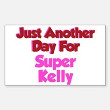 Another Day Kelly Rectangle Decal