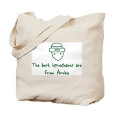 Aruba leprechauns Tote Bag