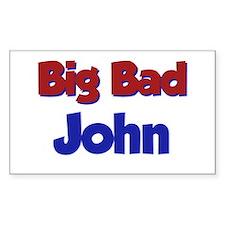 Big Bad John Rectangle Decal