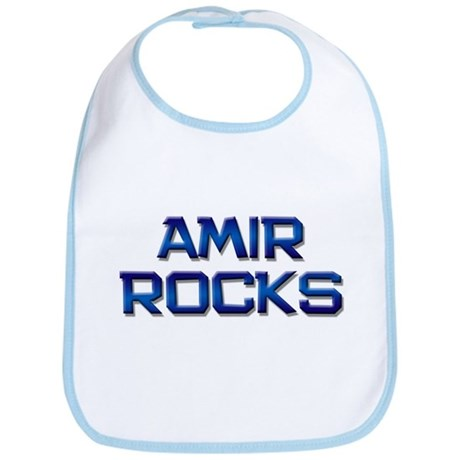 amir rocks Bib