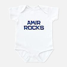 amir rocks Infant Bodysuit