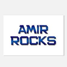 amir rocks Postcards (Package of 8)