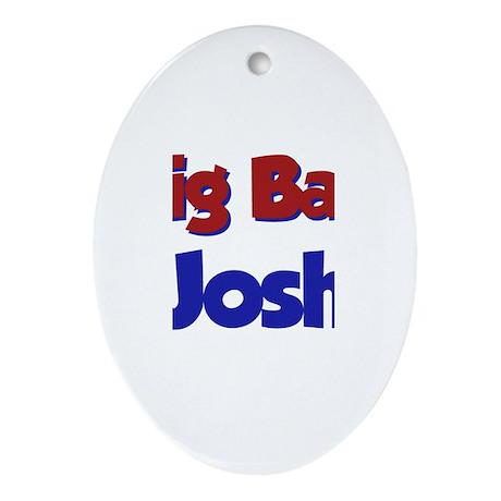 Big Bad Josh Oval Ornament
