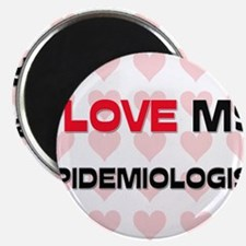 "I Love My Epidemiologist 2.25"" Magnet (10 pack)"