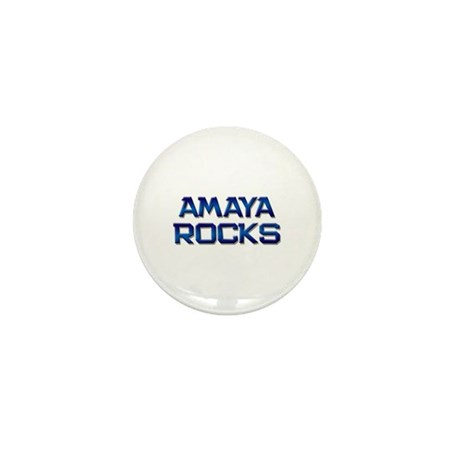 amaya rocks Mini Button (10 pack)