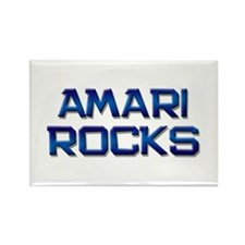 amari rocks Rectangle Magnet