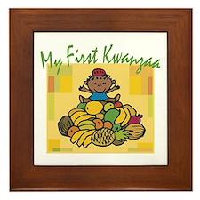 My First Kwanzaa Framed Tile