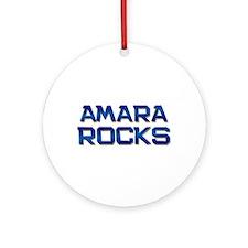 amara rocks Ornament (Round)