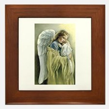 Cute Baptism Framed Tile
