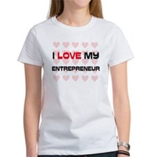 I Love My Entrepreneur Tee