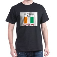 My IVORIAN DAD Loves Me T-Shirt