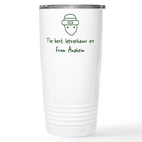 Anaheim leprechauns Stainless Steel Travel Mug