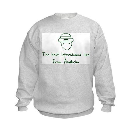 Anaheim leprechauns Kids Sweatshirt