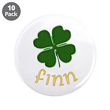 """Finn Irish 3.5"""" Button (10 pack)"""
